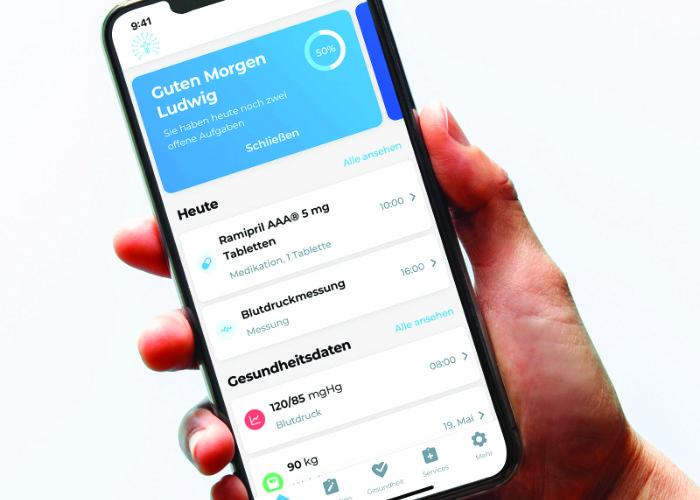 iATROS App Homescreen